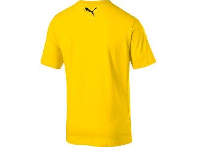 PUMA Herren T-Shirt BVB Shoe Tag Tee Gelb