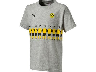 PUMA Kinder T-Shirt BVB Fanwear kids 2 Jr Grau