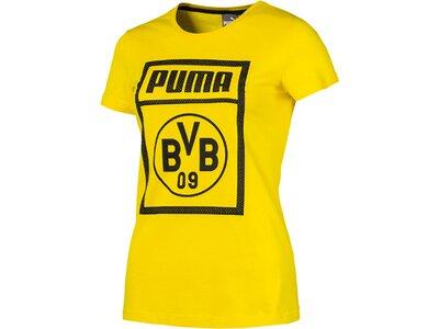 PUMA Damen Fanshirt BVB Gelb