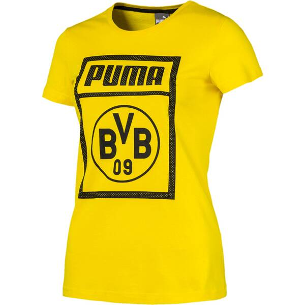 PUMA Damen Fanshirt BVB | Sportbekleidung > Sportshirts > Fanshirts | Yellow | PUMA