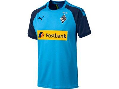 PUMA Herren Fußballshirt BMG Away Shirt Replica with sp Blau