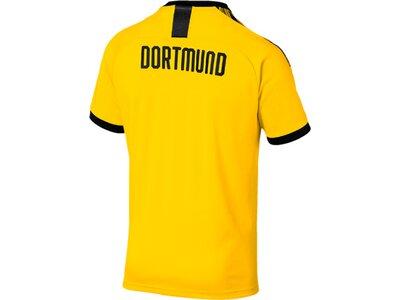 PUMA Herren Trikot BVB Home Shirt Authentic Gold