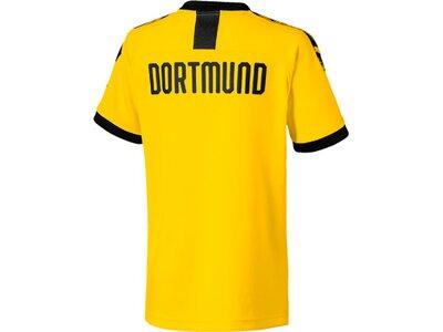"""PUMA Jungen Fußballtrikot """"BVB Home Shirt"""" Kurzarm - Replica Gelb"""