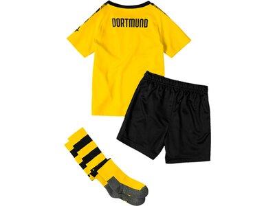 PUMA Kinder Trikot-Set BVB Home Minikit mit Socken Gold