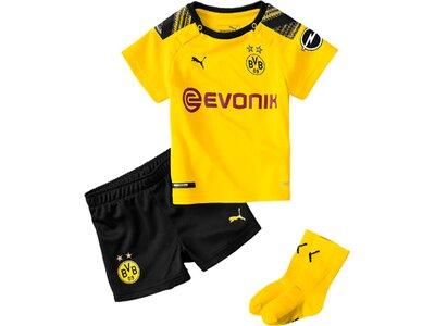 PUMA Kinder Trikot-Set BVB Home Babykit mit Socken Gold
