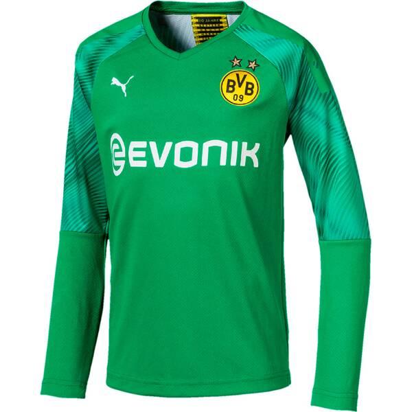 PUMA Kinder Torwart-Trikot BVB LS GK Shirt Replica Jr