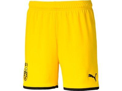PUMA Replicas - Shorts - National BVB Dortmund Short Home + UCL 2019/2020 Kids Gelb