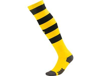 PUMA Herren Football-Socken Team BVB Hooped Socks Schwarz