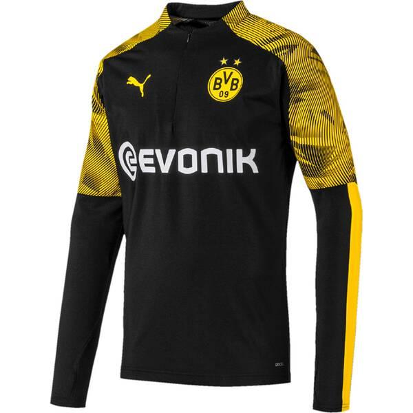 PUMA  Herren Sweat BVB 1/4 Zip Training Top with
