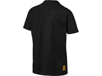 PUMA Herren T-Shirt BVB PUMA DNA Tee Schwarz