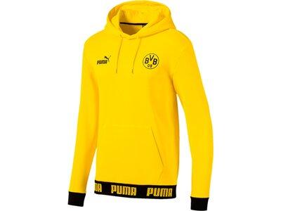 PUMA Herren Hoodie BVB FtblCulture Gold