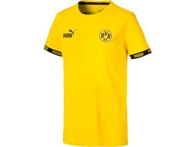 PUMA Kinder T-Shirt BVB FtblCulture Tee Jr Gold