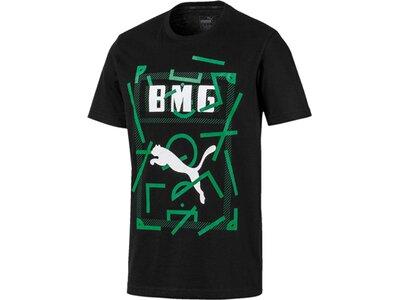 PUMA Replicas - T-Shirts - National Borussia Mönchengladbach DNA T-Shirt Schwarz