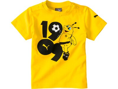 PUMA Kinder T-Shirt BVB Minicats Graphic Tee Gold