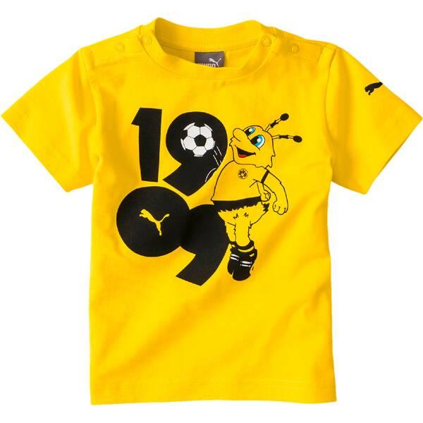 PUMA Kinder  T-Shirt BVB Minicats Graphic Tee