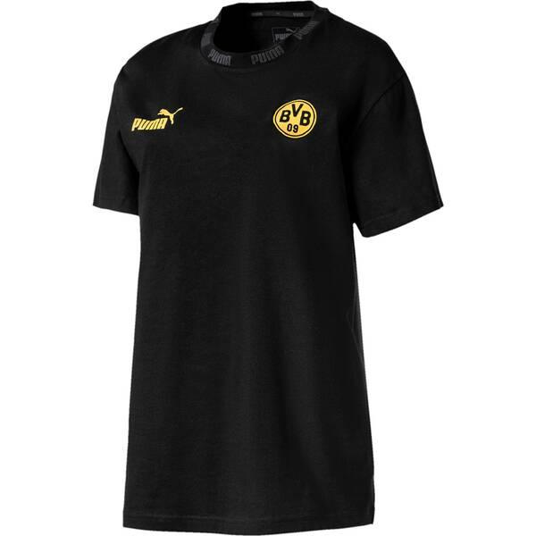 PUMA Damen T-Shirt BVB FtblCulture Tee