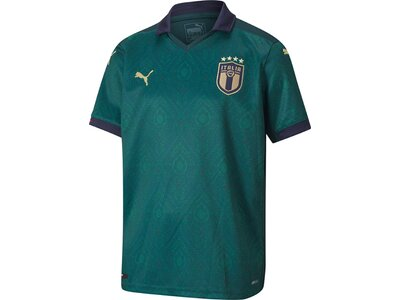 PUMA Kinder FIGC Third Shirt Replica Blau