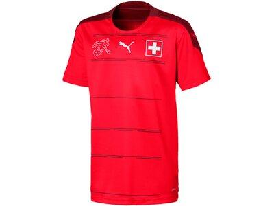 PUMA Replicas - Trikots - Nationalteams Schweiz Trikot Home EM 2021 Kids Rot