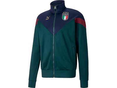 PUMA Herren Jacke FIGC Iconic MCS Blau