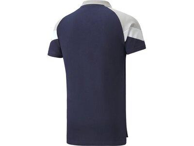 PUMA Herren FIGC Iconic MCS Polo Blau
