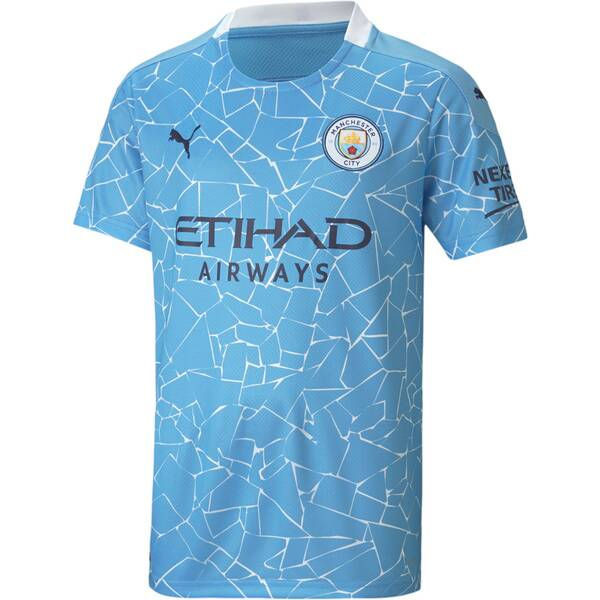 PUMA Kinder Fantrikot MCFC HOME Shirt Replica SS