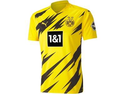 PUMA Herren BVB HOME Shirt Replica SS Schwarz