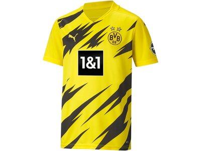 PUMA Kinder Fantrikot BVB HOME Shirt Replica SS Grau