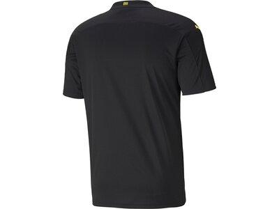 PUMA Herren Fantrikot BVB AWAY Shirt Replica SS Schwarz