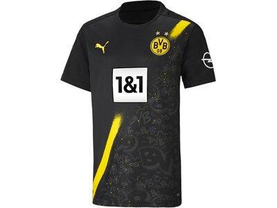 PUMA Kinder Fantrikot BVB AWAY Shirt Replica SS Schwarz