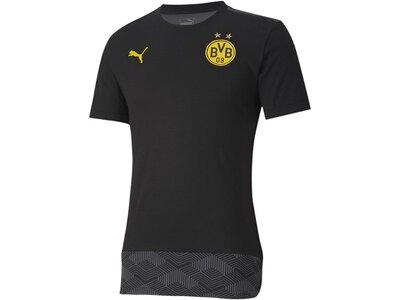 PUMA Herren BVB Casuals Tee Schwarz