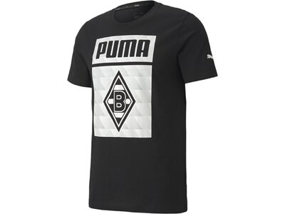 PUMA Replicas - T-Shirts - National Borussia Mönchengladbach Graphic T-Shirt Schwarz