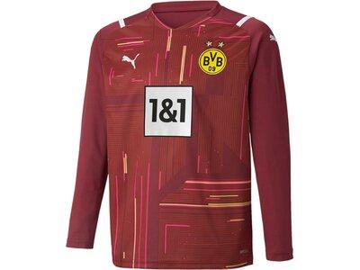 PUMA Kinder Fantrikot BVB GK Shirt Replica LS Jr Rot