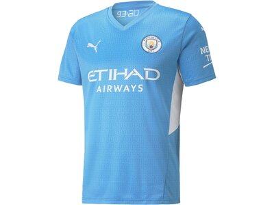 PUMA Herren Fantrikot MCFC HOME Shirt Replica w Blau