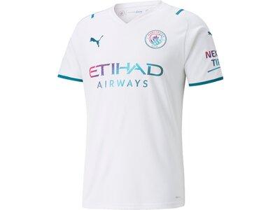 PUMA Herren Fantrikot MCFC AWAY Shirt Replica w Weiß