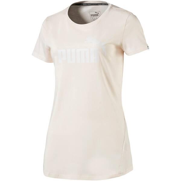 Puma Damen T-Shirt ESS No.1 Tee W Grau