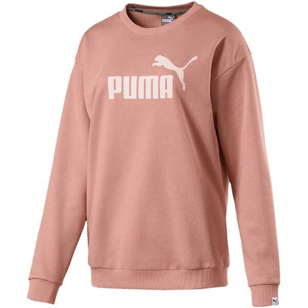 Puma Damen Shirt ESS No.1 Crew Sweat TR W Pink
