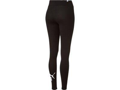 PUMA Damen Leggings Style No. 1 Logo Schwarz