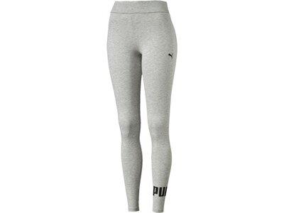 PUMA Damen Leggings Style No. 1 Logo Silber