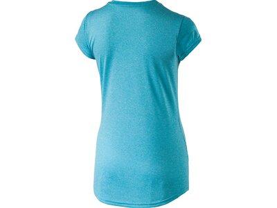 PUMA Damen Fitnessshirt Actice Ess No.1 Tee W Kurzarm Blau