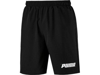 PUMA Herren Shorts Rebel Woven Short 9` Schwarz