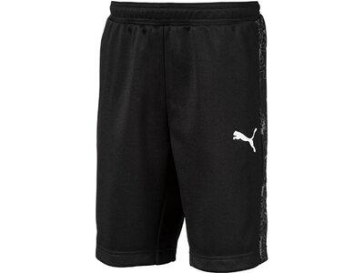 PUMA Kinder Shorts Active Sports Poly Shorts B Schwarz