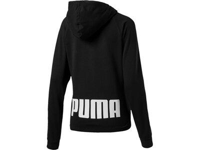 Puma Damen Hoodie URBAN SPORTS FZ Hoody TR Schwarz