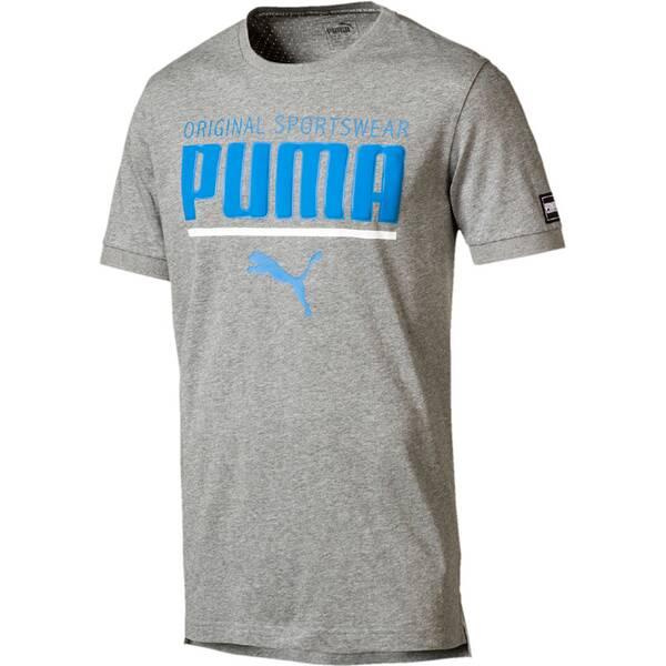 Puma Herren T-Shirt STYLE Athletic   Bekleidung > Shirts > T-Shirts   Gray   Puma