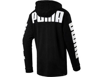 Puma Herren Hoodie Rebel FZ Hoody TR Schwarz