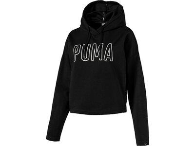Puma Damen Hoodie FUSION Hoody Schwarz