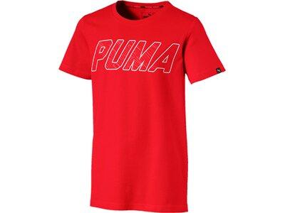 Puma Kinder T-Shirt Style Graphic Rot