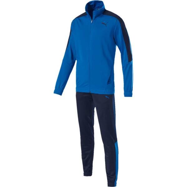 PUMA Herren Sportanzug Techstripe Tricot Suit CL