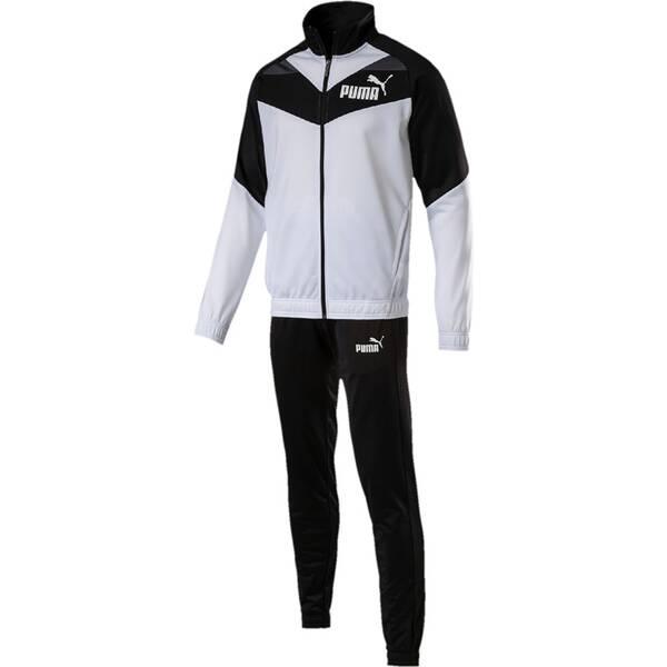 PUMA Herren Sportanzug Iconic | Sportbekleidung > Sportanzüge > Sonstige Sportanzüge | Black - White | PUMA