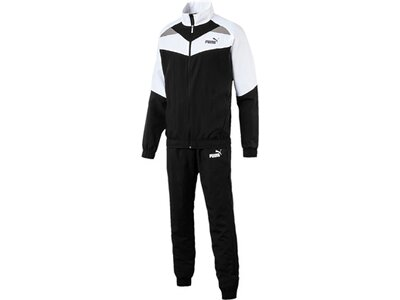 PUMA Herren Trainingsanzug Iconic Woven Suit Cl Weiß