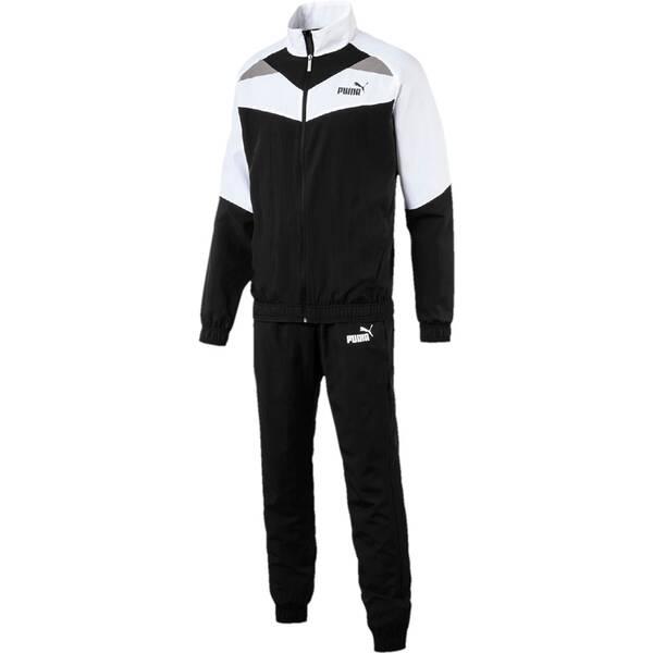 PUMA Herren Trainingsanzug Iconic Woven Suit Cl